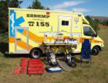 Vybavení sanitky